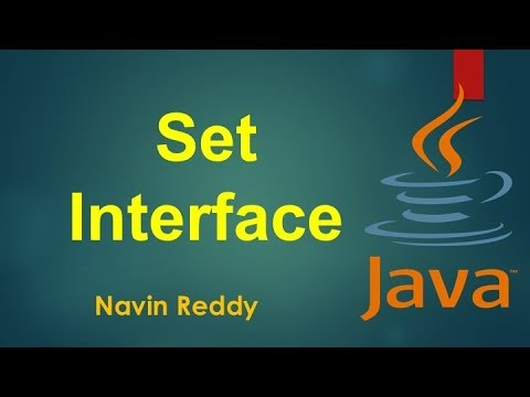 14.9 Set Interface in Java Collection Framework