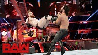 Seth Rollins vs. Sheamus: Raw, Sept. 25, 2017