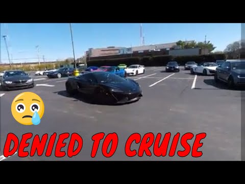 Getting Kicked Out Of A Super Car Meet!