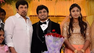Mansoor Ali Khan's Daughter Wedding Reception | Vijayakanth | Vishal | Vikram - BW