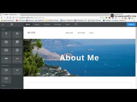 Weebly: Changing Theme and Header