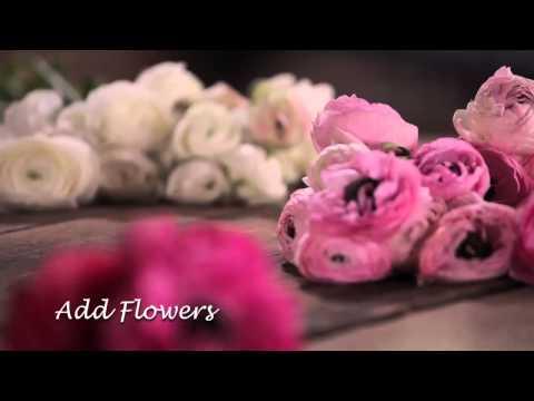HGTV DIY Wedding HANGING FLORAL VID REF