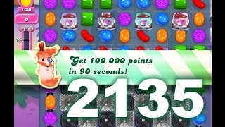 Candy Crush Saga Level 2135 (3 Stars, No Boosters)