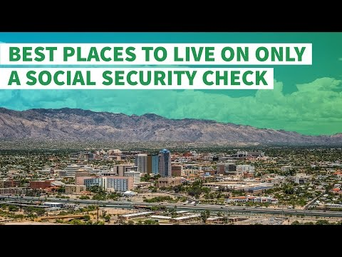 Best Places to Live on Only a Social Security Check