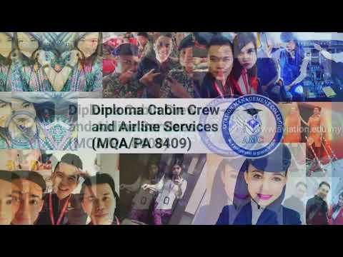 Diploma Cabin Crew & Airline Services - 1st cabin crew diploma program (MQA certified) in Malaysia