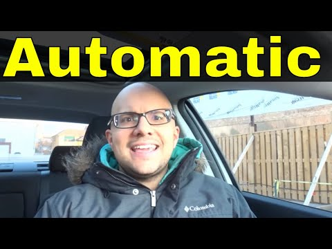 4 Benefits Of Driving An Automatic Car-Manual VS Automatic Transmission