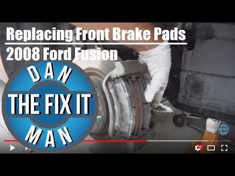 2008 Ford Fusion - Replacing Front Brake Pads - Easy DIY