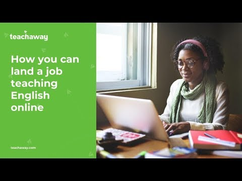 How you can land a job teaching English online