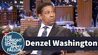 Denzel Washington Reunited with His Childhood Librarian