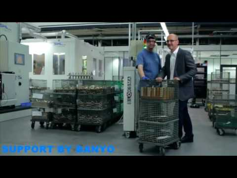How is a mixer created Part 2? In the Hansgrohe Surface Processing