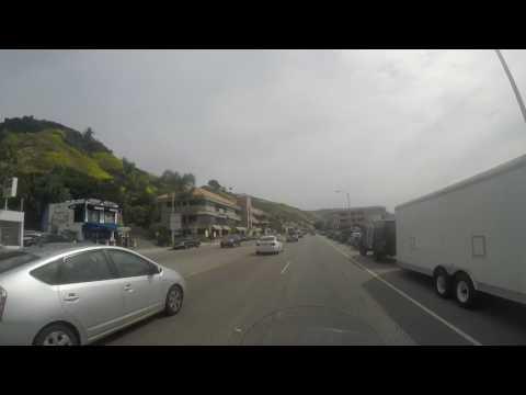 California, Highway 1, Malibu to Santa Monica Pier
