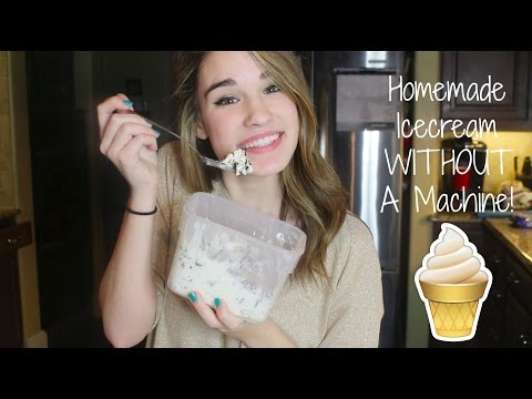 How to Make Homemade Icecream Without an Icecream Machine!