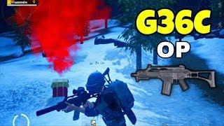 pubg g36c gameplay