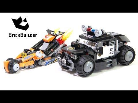 Lego Movie 70808 Super Cycle Chase - Lego Speed build