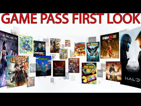 Xbox Game Pass First Look - 14 Day Trial Starts Today #GamePass