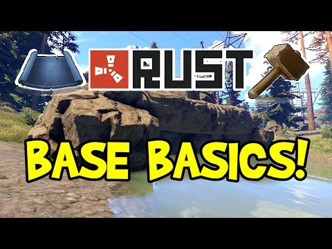 Beginner RUST Base Design 2017! (Tips for Solo, Duo, Small Group & Trap Base, After New Update)