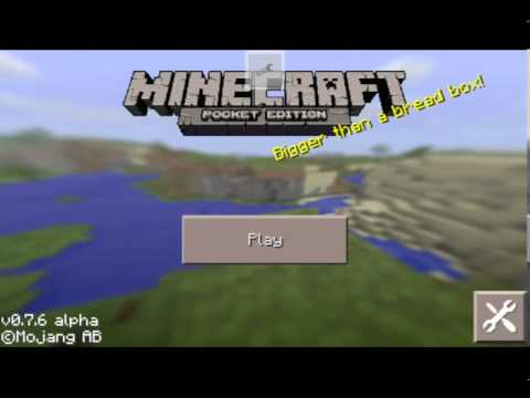 How to add mod on minecraft pe android 0.7.6