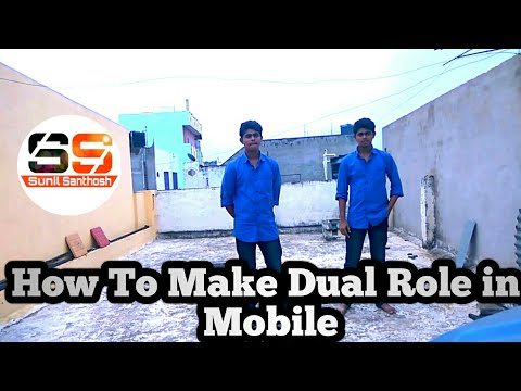 How To Make Dual Role in Mobile (Telugu) || by Sunil Santhosh