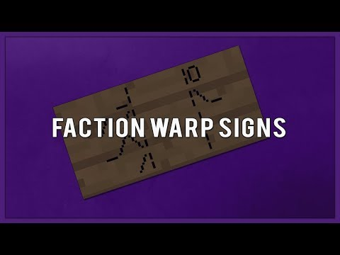 Faction Warp Signs