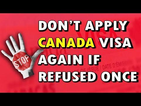 Don't Apply Canada Visa Again