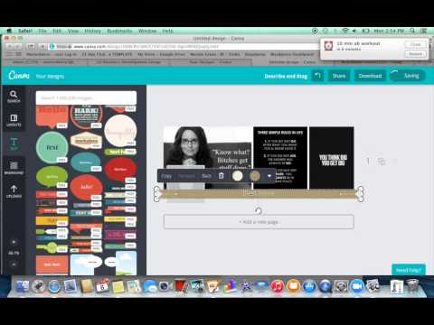 Canva Tutorial: How to Create a Facebook Cover