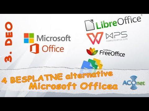 MICROSOFT OFFICE: 4 besplatnih alternativa   3. zadnji deo