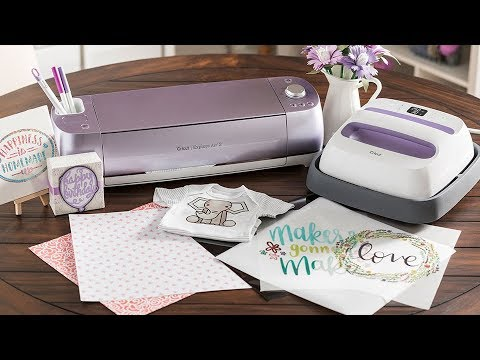 New Cricut Air 2 & EasyPress Bundles in Wisteria