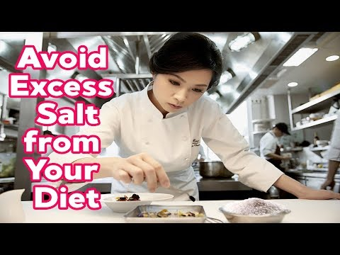 HOW MUCH SALT DO YOU NEED DAILY!! THE REASONS TO AVOID EXCESS SALT FROM YOUR DIET!