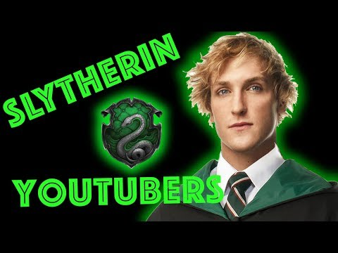 Slytherin Youtubers Sorted by Pottermore