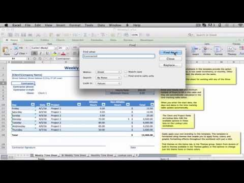 Find Text in a Microsoft Excel Workbook: Excel MOOC