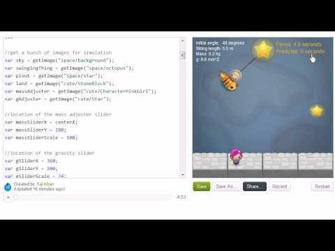 Pendulum Simulation Project