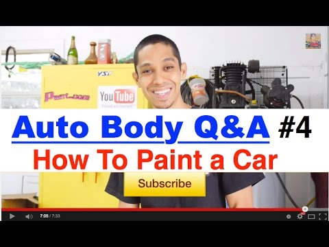 How To Make New Paint Match Old Paint On A Car - LearnAutoBodyAndPaint.com Q&A Part 4