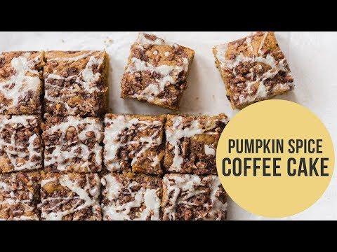 Pumpkin Spice Coffee Cake | Easy Fall Recipe