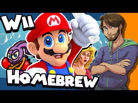 Nintendo Wii HOMEBREW Games + Fan Games! - SpaceHamster