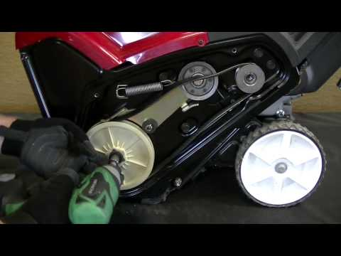 How To Change A Snow Blower Belt | Toro Residential Snow Blower