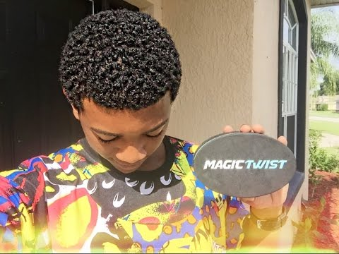 How to get curls with Magic Twist