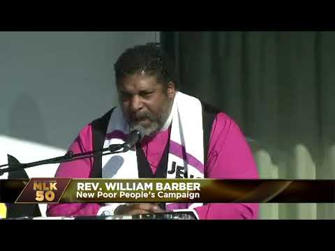 Rev. William Barber: Thousands Are Coming Together To Launch The New Poor People's Campaign
