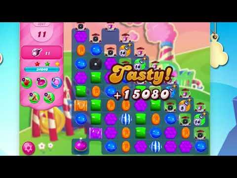 Candy Crush Saga Level 3247  No Booster