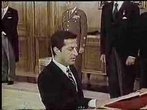 El primer presidente de la Democracia