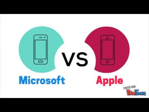Microsoft Vs Apple Which is a better company