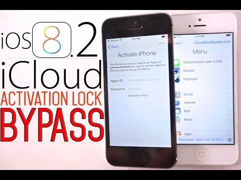How To Bypass iOS 8.2 iCloud Activation Lock Screen on iOS 8 / 8.1.3