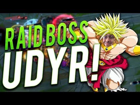 SEASON 8 1v5 RAID BOSS UDYR BUILD - Trick2g