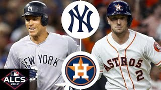 New York Yankees vs. Houston Astros Highlights | ALCS Game 1 (2019)