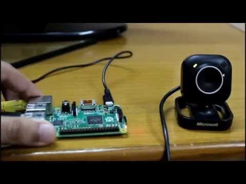 Raspberry Pi as Webcam Server