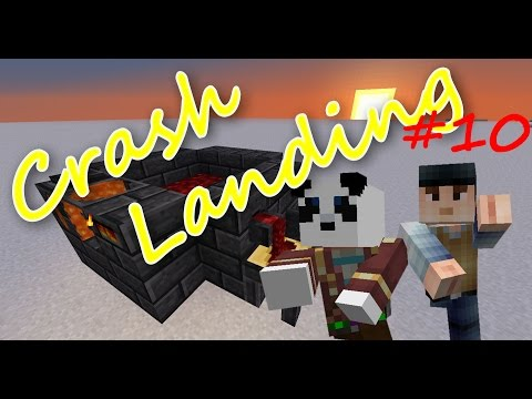 FTB - Crash Landing #010 - Smeltery