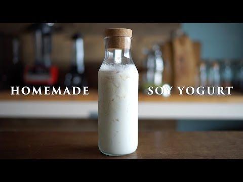 Home made Soy Yogurt ☆ 自家製豆乳ヨーグルトの作り方