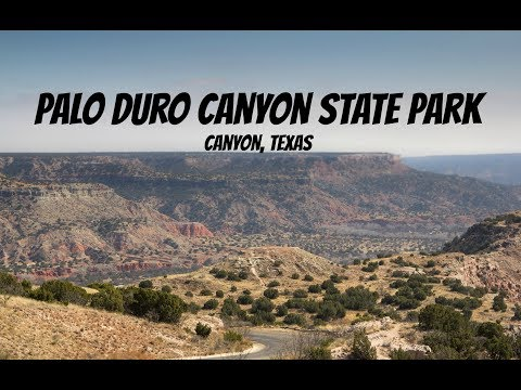 Palo Duro Canyon, Scenic Drive!