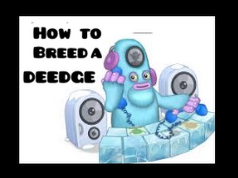 My Singing Monsters How to breed a Deedge