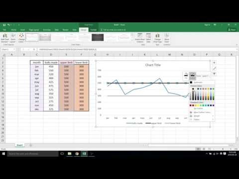 Control chart - excel 2016 - video 42