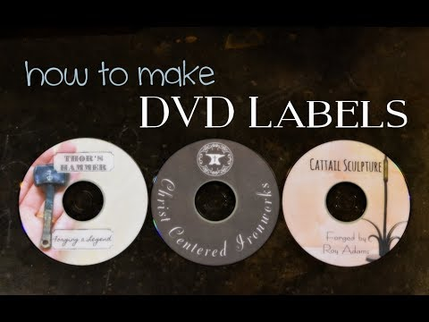 How to Make DVD Covers for Free // DVDs for Your Blacksmith Business